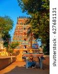 temple of sri ranganathaswamy... | Shutterstock . vector #627681131
