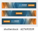 abstract website header....   Shutterstock .eps vector #627693539