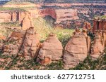 the rock formation called the... | Shutterstock . vector #627712751