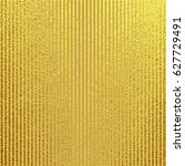 gold pattern with vertical... | Shutterstock .eps vector #627729491