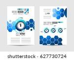 brochure template  flyer design ... | Shutterstock . vector #627730724