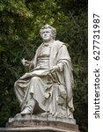 franz schubert statue inside...   Shutterstock . vector #627731987