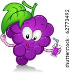 illustration of a grape... | Shutterstock .eps vector #62773492