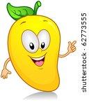 illustration of a mango... | Shutterstock .eps vector #62773555