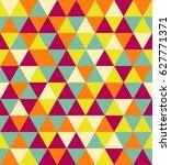 vector seamless pattern.vintage ... | Shutterstock .eps vector #627771371