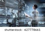 modern technologies for... | Shutterstock . vector #627778661