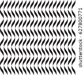 minimalistic wavy black and... | Shutterstock .eps vector #627800771