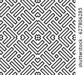 wicker pattern. basket weave... | Shutterstock .eps vector #627806285