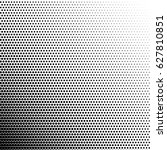 halftone pattern background.... | Shutterstock .eps vector #627810851