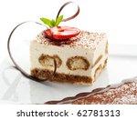 tiramisu   classical dessert... | Shutterstock . vector #62781313