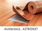 linoleum coating. flooring... | Shutterstock . vector #627820637