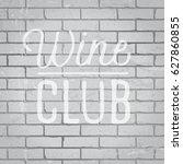 hand drawn lettering slogan on... | Shutterstock .eps vector #627860855
