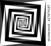 vector black and white abstract ...   Shutterstock .eps vector #627874187