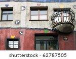 hundertwasser house  vienna ... | Shutterstock . vector #62787505