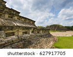 detail of a pyramid at the el... | Shutterstock . vector #627917705
