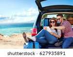 Summer Car Trip And Landscape...