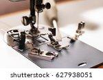 woman's hobby  sewing machine ...   Shutterstock . vector #627938051