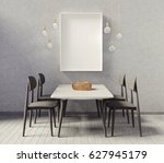 modern interior room with nice... | Shutterstock . vector #627945179