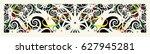 borneo sarawak  iban tribal...   Shutterstock .eps vector #627945281