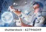 innovative technologies in... | Shutterstock . vector #627946049