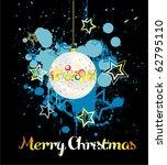 christmas card | Shutterstock .eps vector #62795110