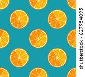 tiled seamless pattern of... | Shutterstock .eps vector #627954095
