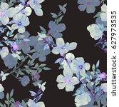 seamless watercolor...   Shutterstock . vector #627973535