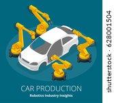 car manufacturer or car... | Shutterstock .eps vector #628001504