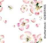 sophisticated beautiful cute... | Shutterstock . vector #628005401