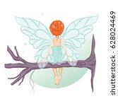 The Cute Little Fairy Sat Down...