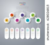 timeline infographics design... | Shutterstock .eps vector #628026815