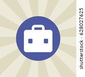 briefcase icon. sign design....