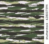 abstract brushstrokes textured... | Shutterstock .eps vector #628037594