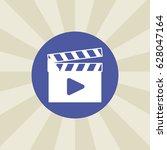 film icon. sign design....   Shutterstock . vector #628047164