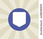 shield icon. sign design....