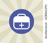 first aid kit icon. sign design....
