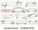 vintage frames and design...   Shutterstock .eps vector #628081955