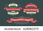 vintage frames and design... | Shutterstock .eps vector #628082375