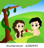 Free Adam And Eve Vector - Download Free Vector Art, Stock ...