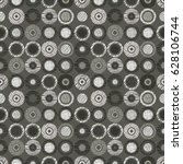 seamless  geometrical pattern...   Shutterstock . vector #628106744