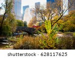 central park   nyc | Shutterstock . vector #628117625