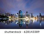 Brisbane City Skyline At Night...
