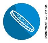 emblem coin money save | Shutterstock .eps vector #628145735
