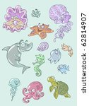 colorful vector illustration of ... | Shutterstock .eps vector #62814907
