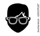man cartoon icon | Shutterstock .eps vector #628159187