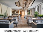 Restaurant In A Modern Style...