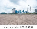 landmark buildings near marina... | Shutterstock . vector #628195154