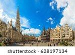 brussels  belgium   june 16 ... | Shutterstock . vector #628197134