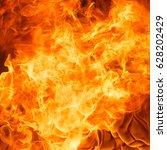 abstract blaze fire flame... | Shutterstock . vector #628202429