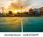 soccer field line  soccer field ... | Shutterstock . vector #628253699